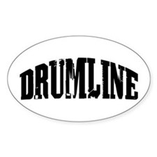 Drumline Oval Decal