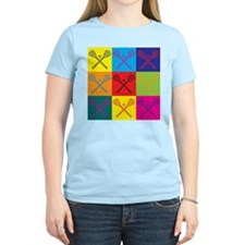 Lacrosse Pop Art T-Shirt