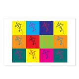 Kites Pop Art Postcards (Package of 8)