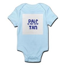 Pale is the new      Tan Infant Creeper