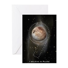 I believe in Pluto Greeting Cards (Pk of 10)