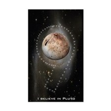 I believe in Pluto Rectangle Decal