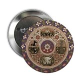 "Wheel of Life 2.25"" Button (10 pack)"