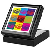 HVAC Pop Art Keepsake Box