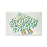 Retro Drum Major Rectangle Magnet (10 pack)