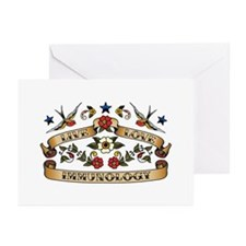 Live Love Immunology Greeting Cards (Pk of 20)