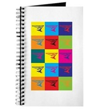 Hang Gliding Pop Art Journal