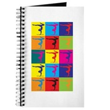 Gymnastics Pop Art Journal