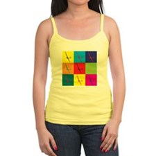 Gliding Pop Art Ladies Top