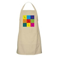 Gliding Pop Art BBQ Apron