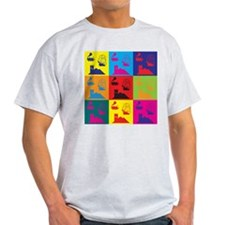 German Board Games Pop Art T-Shirt