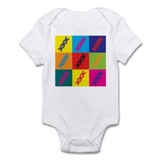 Genetics Pop Art Infant Bodysuit