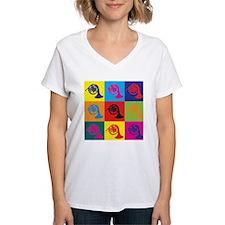 French Horn Pop Art Shirt