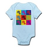 French Horn Pop Art Onesie