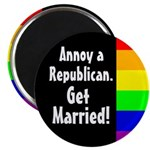 Annoy a Republican. Get Married Magnet