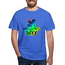 Rainbow 40th birthday T-Shirt