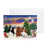 Take-Off/3 Cavaliers Greeting Cards (Pk of 20)