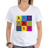 Fencing Pop Art Shirt