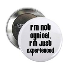 """I'm Not Cynical 2.25"""" Button (100 pack)"""