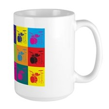 Drums Pop Art Coffee Mug