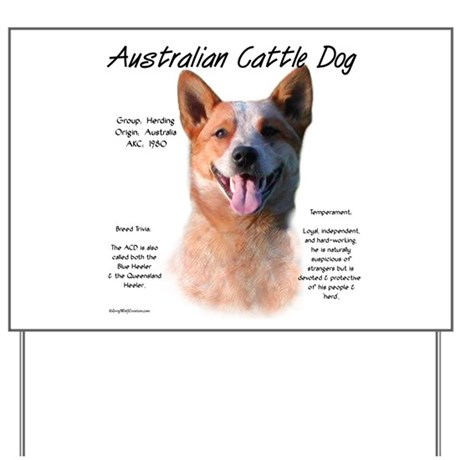 ACD (red speckle) Yard Sign