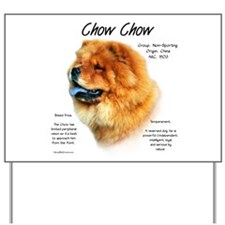 Chow Chow Yard Sign