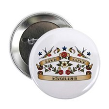 "Live Love English 2.25"" Button (10 pack)"