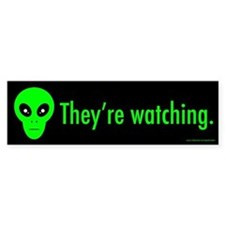 They're Watching (sticker)