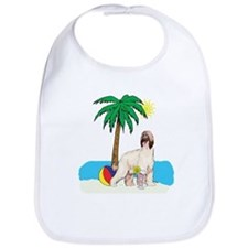 Beach Afghan Hound Bib