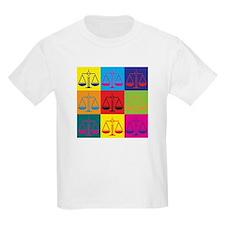 Criminal Justice Pop Art T-Shirt