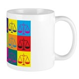 Criminal Justice Pop Art Mug