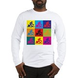 Crewing Pop Art Long Sleeve T-Shirt