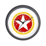 Star of Lenin Wall Clock