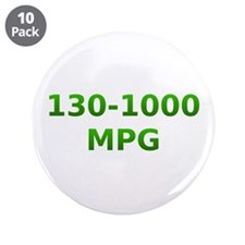 "Cute Plug in hybrid 3.5"" Button (10 pack)"
