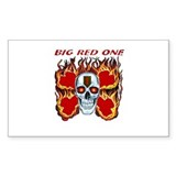 "Americas Army ""Big Red One"" Rectangle Decal"