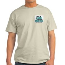 In The Fight Ovarian Cancer 1 (Daughter) T-Shirt