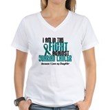 In The Fight Ovarian Cancer 1 (Daughter) Shirt