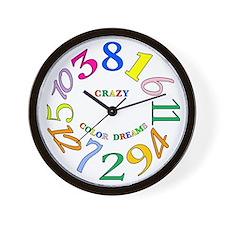 Cute Dream time Wall Clock
