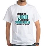 In The Fight Ovarian Cancer 1 (Wife) Shirt