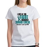 In The Fight Ovarian Cancer 1 (Wife) Tee