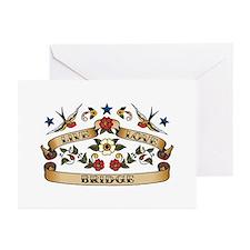 Live Love Bridge Greeting Cards (Pk of 10)