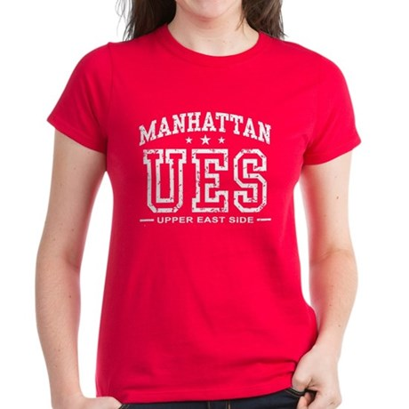 Upper East Side Women's Dark T-Shirt