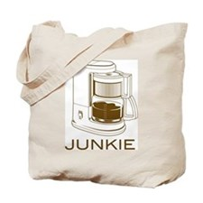 Junkie - Coffee Tote Bag