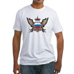 Russia Emblem Fitted T-Shirt