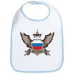 Russia Emblem Bib