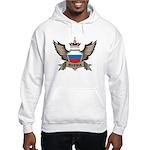 Russia Emblem Hooded Sweatshirt