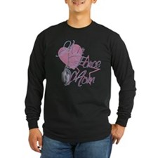 Air Force Mom Heart N Star T