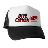 Dive Cayman (red) Trucker Hat