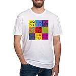 Coins Pop Art Fitted T-Shirt