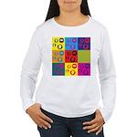 Coins Pop Art Women's Long Sleeve T-Shirt